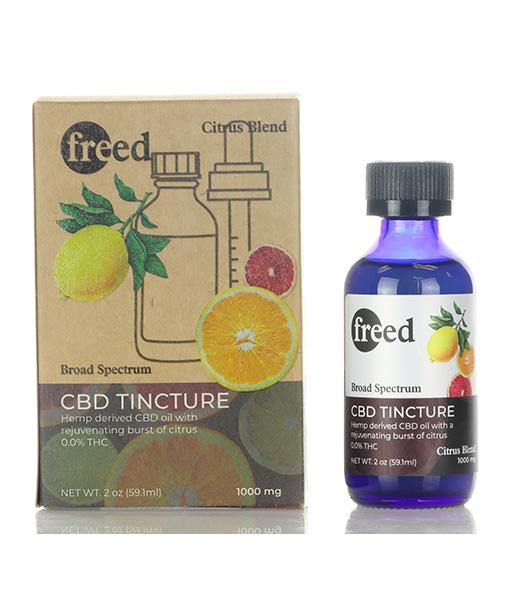 Freed CBD Tinctures Citrus Flavor 60ml